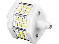 Luminea LED-SMD-Lampe m. 18 High-Power-LEDs R7S 78mm,tageslichtweiß, 350 lm