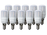 Luminea High-Power LED-Kolben, E14, 3,5 W, 360°, 350 lm, 6000 K, 10er-Set